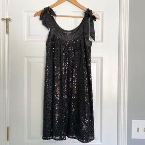 NWT! Betsey Johnson Sequin & Satin Cocktail Dress